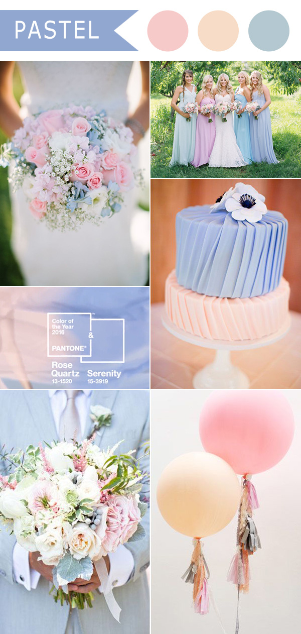 Rose-Quartz-and-Serenity-pastel-wedding-color-ideas-for-2016-trends