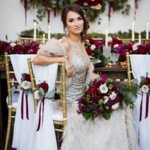 Букет невесты | Pretty Palette: Color Marsala | Гид по цвету Марсала