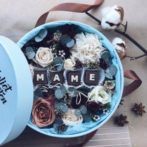 Цветы со сладостями «Sweets&Flowers «МАМЕ»»